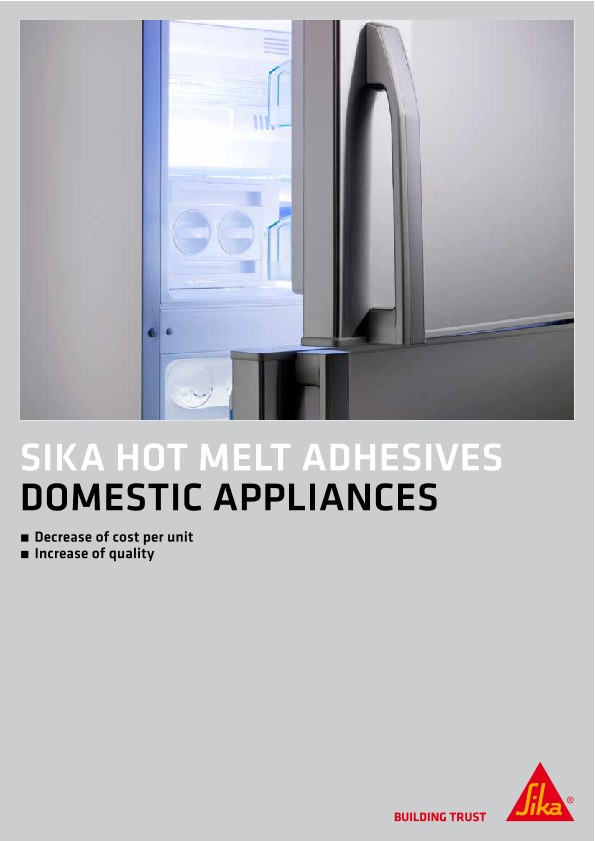 SikaMelt® - Hot Melt Adhesives